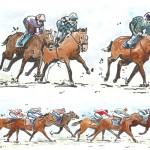 Septembre 2012 – Courses de chevaux à l'hippodrome