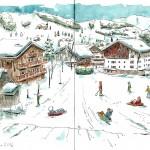 Février 2014 – Dans les Alpes
