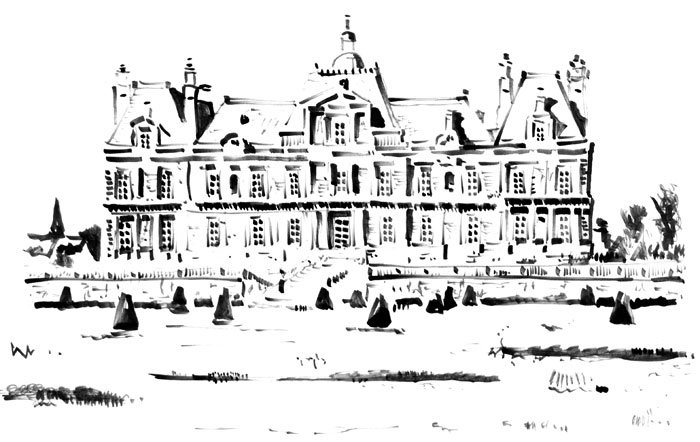 Illustration du Château de Maisons Laffitte, Yvelines