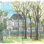 Avril 2014 – Place Wagram, Maisons Laffitte