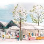 Mai 2013 – Marché de Maisons Laffitte