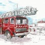 Juillet 2013 – La Caserne des Pompiers