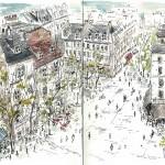 Novembre 2013 – Les Toits de Paris depuis Beaubourg