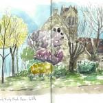 Avril 2014 – Holy Trinity Church, in France !