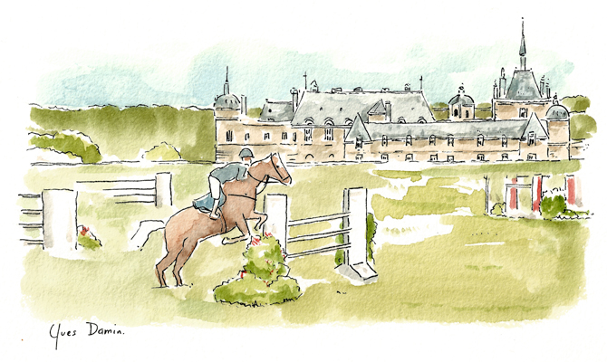 Jumping_Chantilly_peinture