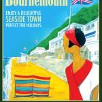 Juillet 2015 – Poster vintage Bournemouth