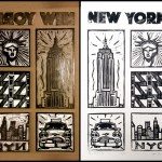 Avril 2016 – Linogravures de New York