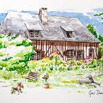 Juillet 2016 – Maison normande