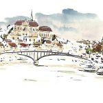 Janvier 2017 – Première peinture de l'année à Auxerre