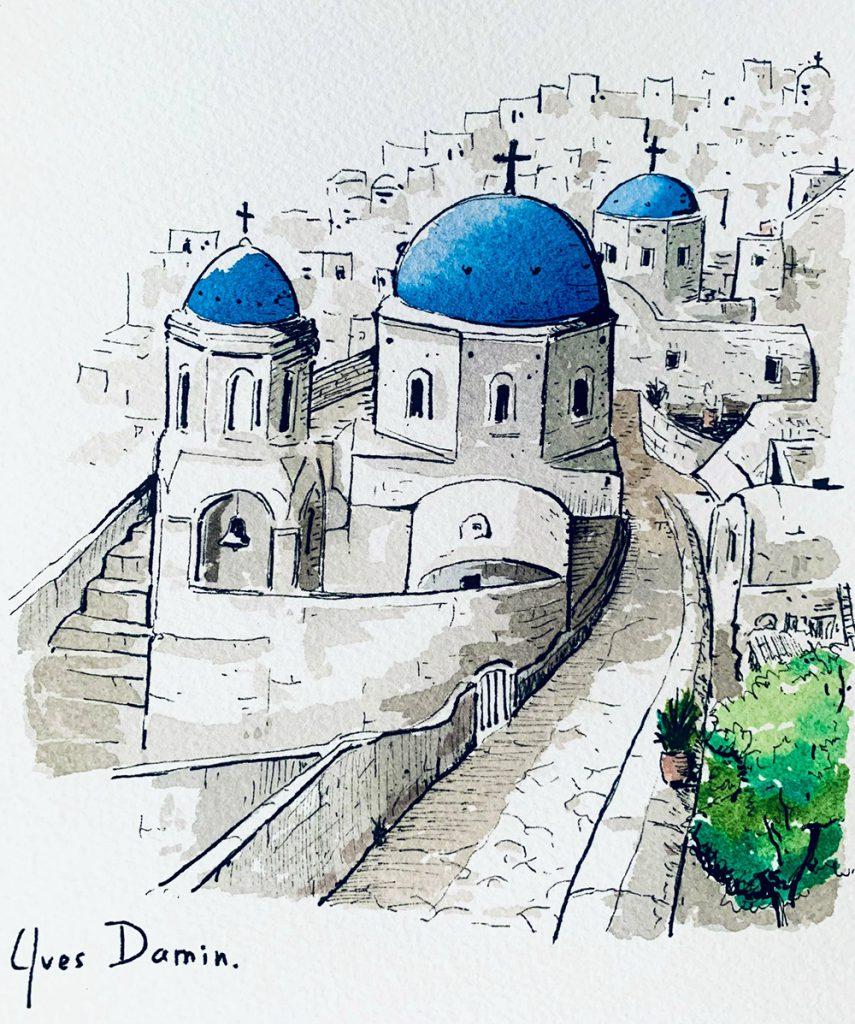 Tableau de Santorin