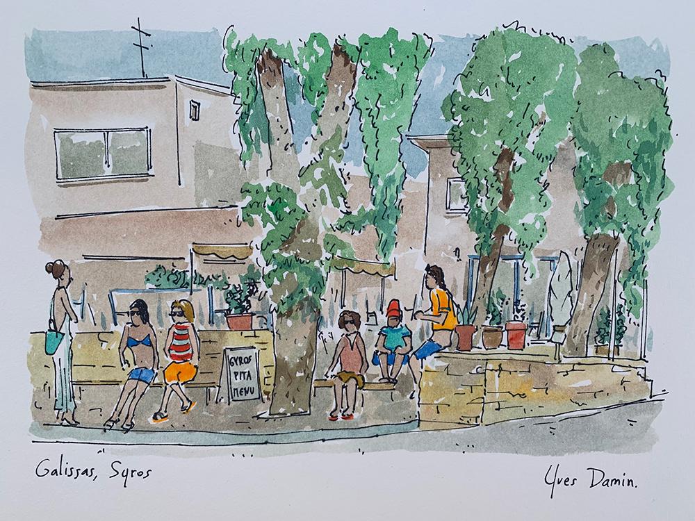 Galissas, Ile de Syros