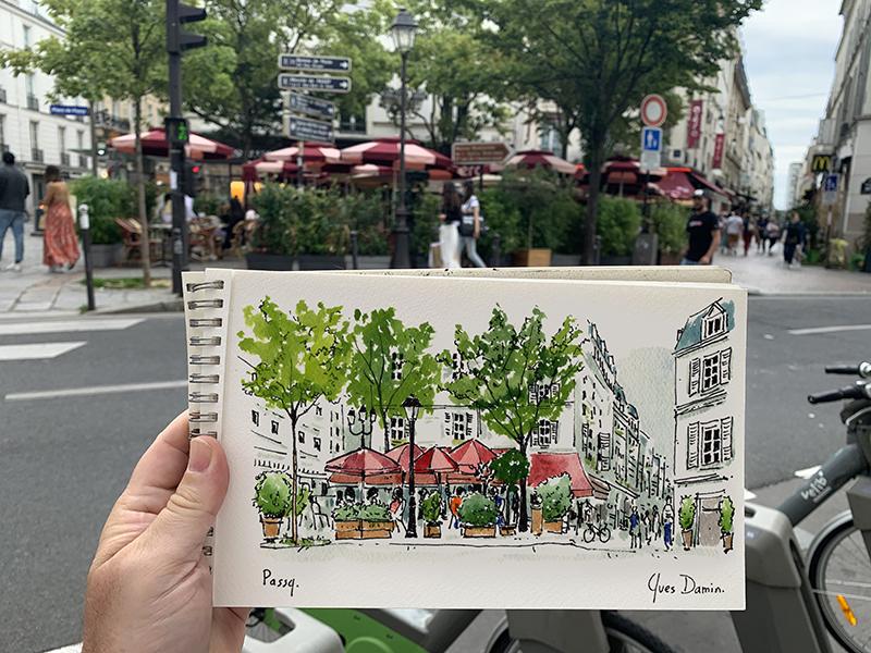Aquarelle Paris 16
